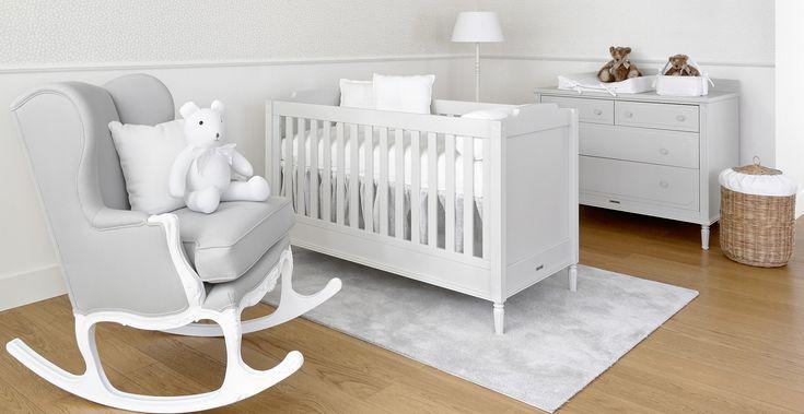 Louis Grey Children furniture + new rocking grey Théophile & Patachou