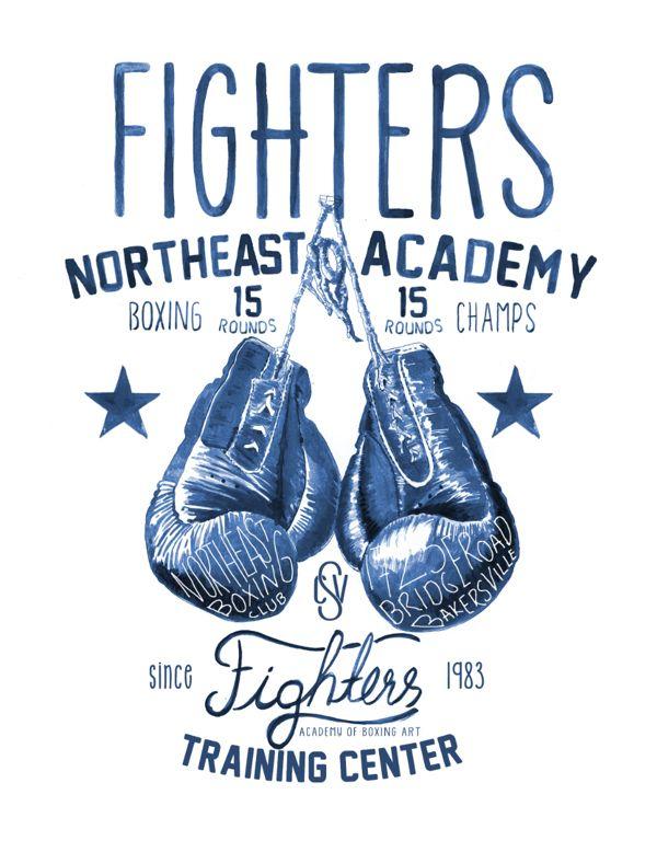 boxing-club by CAN SEYLAN, via Behance