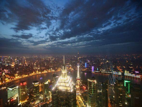 Cidade de Xangai, na China