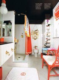 Hermes Orange Bathroom If Money Were No Object