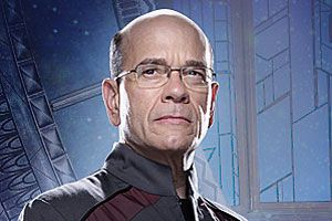 Richard Woolsey played by Robert Picardo