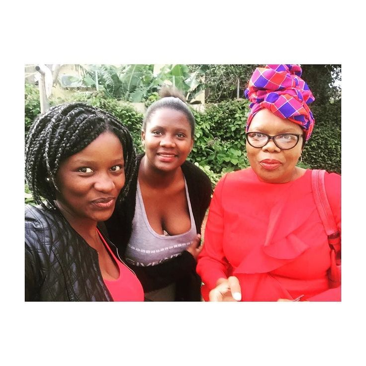 """N U R T U R E R  ______________________________________________ She's all the things I aspire to be... she nurtured 3 souls (pretend @lemogangtsipa was in this pic) and in fact many more in @tcc_umhlathuze and Ethembeni. """"Where she goes people grow"""". She is stern but soft strict but loving. . Happy Mother's Day to my Queen  @sallytsipa . #happymothersday #mothersday #queen #myqueen #queenofmyheart"""