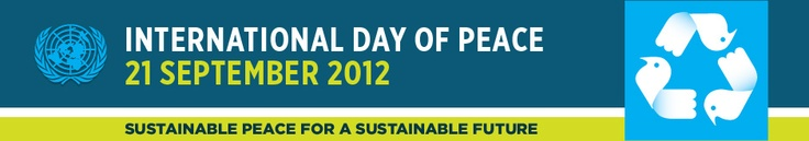 International Day of Peace, 21 September 2012 UN