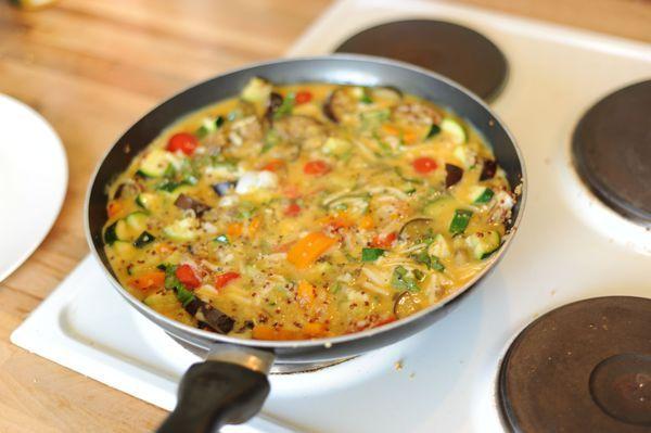 Makkelijk recept: ei met groenten en quinoa - Girlscene
