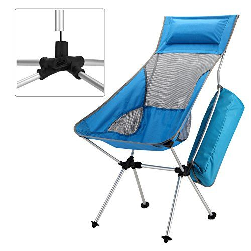Introducing Yahill New DesignExtended Portable Ultralight Collapsible Moon  Leisure Camping Chair With Carrying Bag For Outdoor