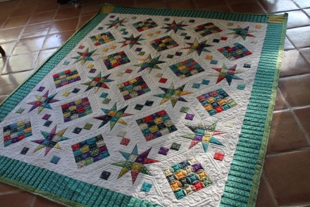 Rising Stars Pattern By Cozy Quilt Quilts Pinterest