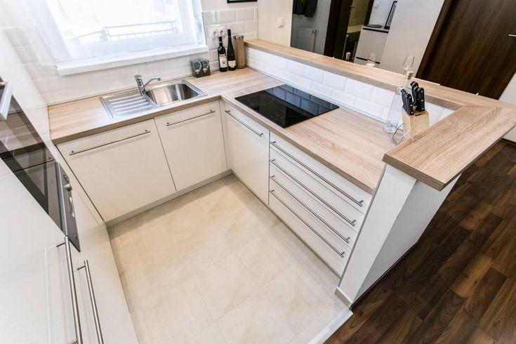 Fiatalos modern egyedi tervezésű konyhabútor - Balogh Ágnes lakberendező