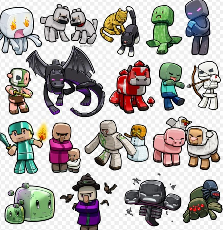 What Minecraft monster are you? (1) Minecraft drawings