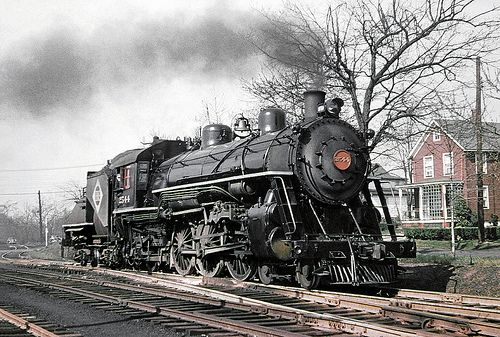 Erie K1 class 4-6-2 Pacific steam locomotive # 2544, is se… | Flickr