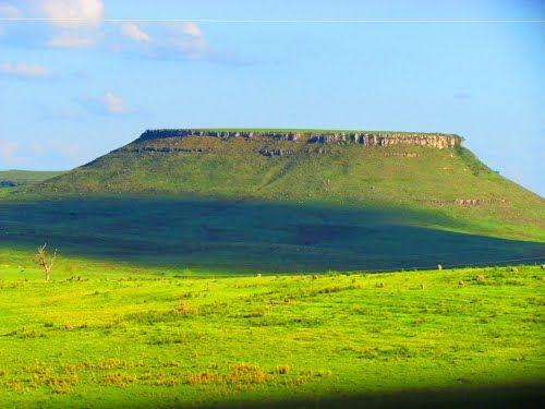 Cerro Cuñapirú, Dpto. de Rivera. Uruguay