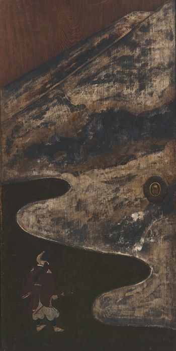 Sliding door  17th-18th century    Ogata Korin , (Japanese, 1658-1716)   Edo period