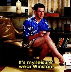 This scene was the best from the season. I got a stomach cramp from laughing so hard at all the tissue Winston used!