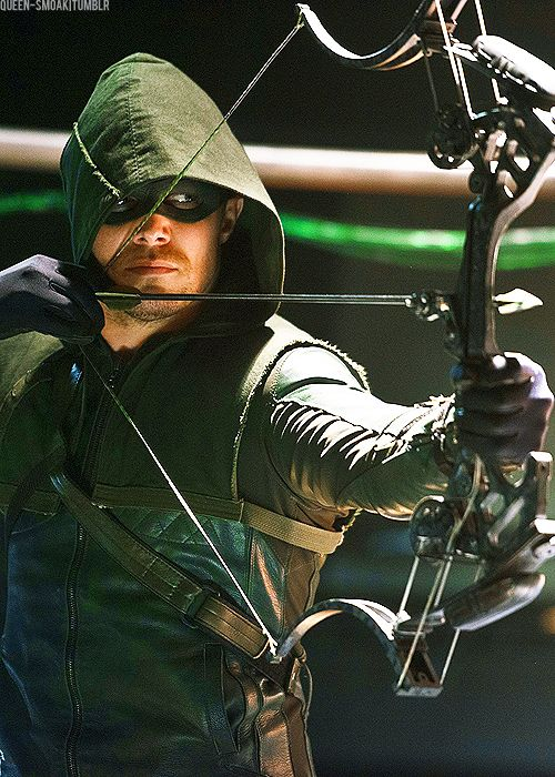 Stephen Amells Green Arrow
