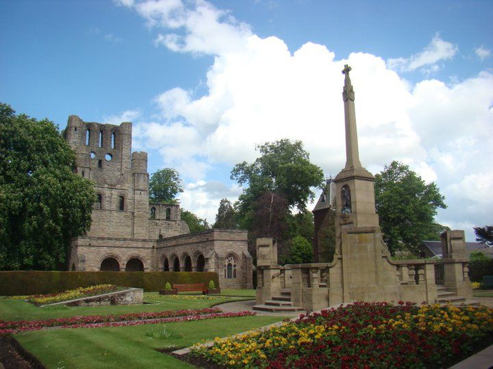 Kelso Abbey Ruins in Kelso, Scotland  Expat Anniversary: Looking Back at the Last 8 Years