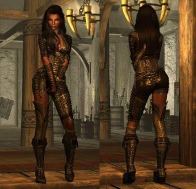 Skyrim Se Outfit Bondage Unp Stepsiblings 1