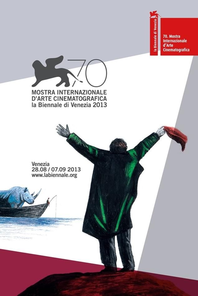 70th Venice Film Festival poster pays tribute to Angelopoulos and Fellini