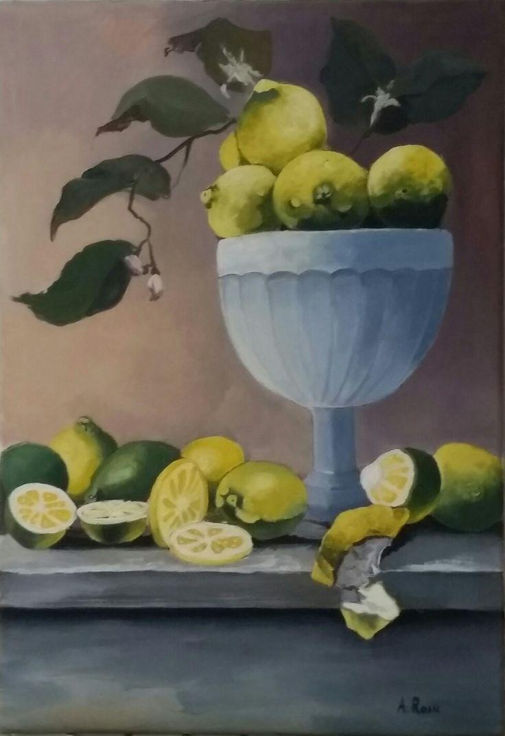 Coppa con limoni