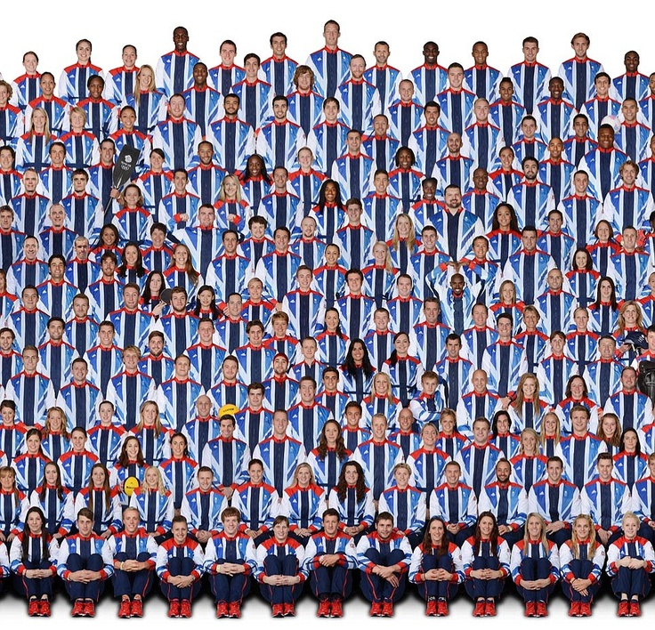 Go Team GB. And all the other Olympic teams too...