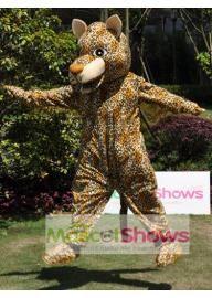 Costume de Mascotte de petit léopard
