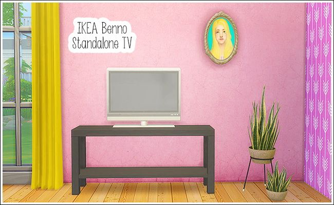 IKEA Benno Standalone TV at Lina Cherie • Sims 4 Updates