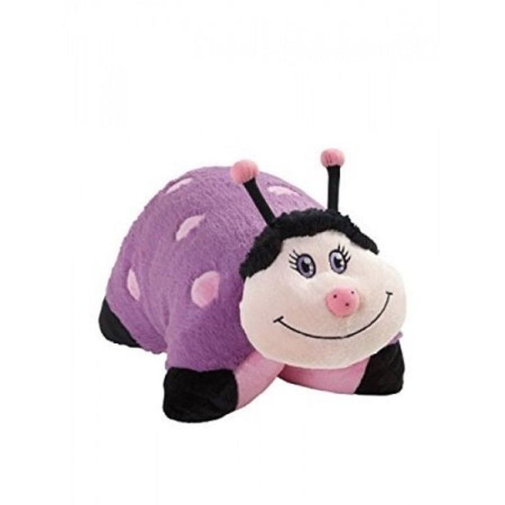 Pillow Pet Purple Ladybug
