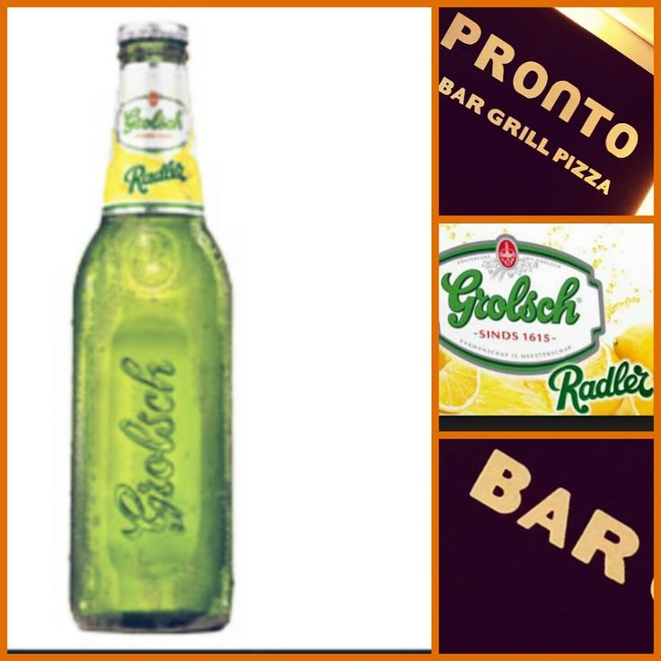Het graag gewilde drankje, Radler! Nu ook verkijgbaar bij Pronto!
