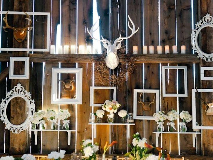 Rustic Wedding Wall Decorations