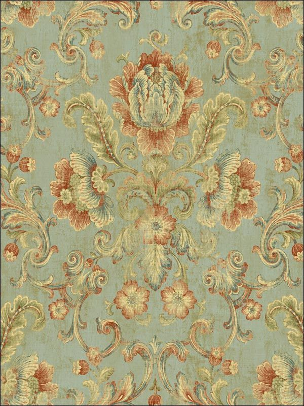 wallpaperstogo.com WTG-093546 Fairwinds Studio Traditional Wallpaper