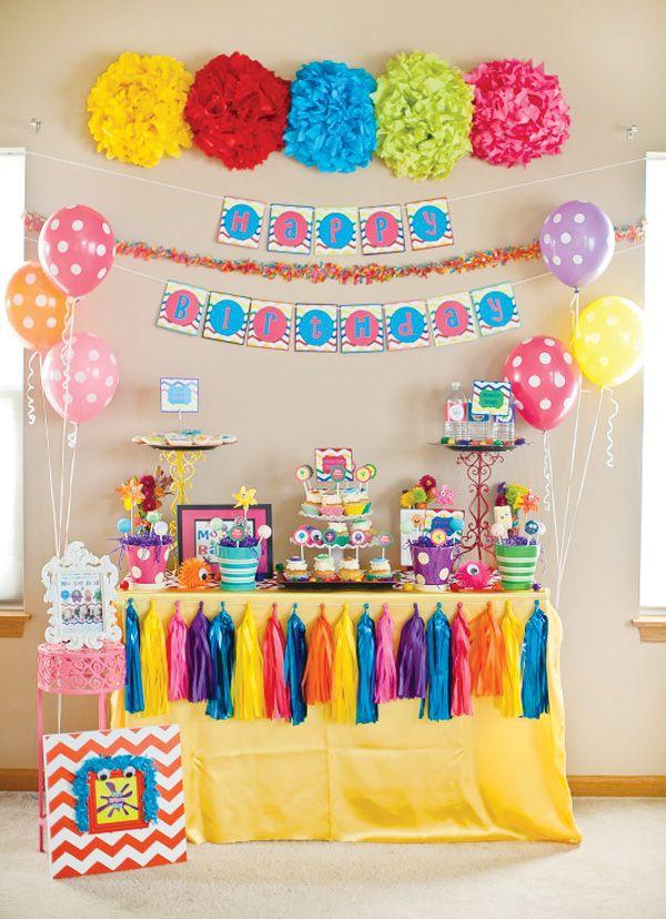 items similar to girl monster bash birthday party invitation digital file on etsy