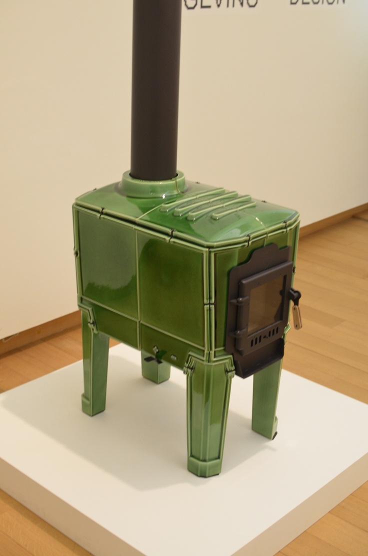 Tegelkachel van Koninklijke Tichelaar Makkum, gespot in Stedelijk Museum Amsterdam.