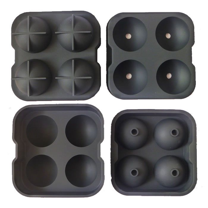 2014 most popular whisky sphere ice molds,silicone ice ball mold, reusable ice sculpture molds