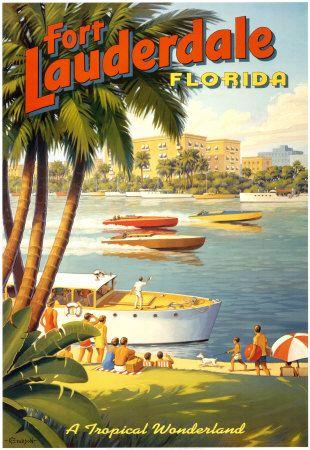 Vintage Ft Lauderdale Florida