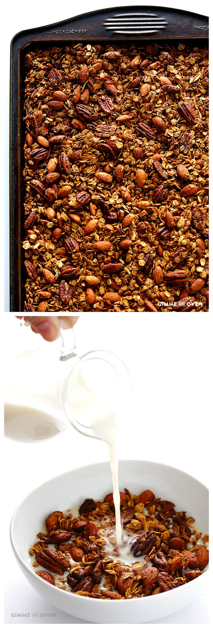 how to make healthy granola recipe