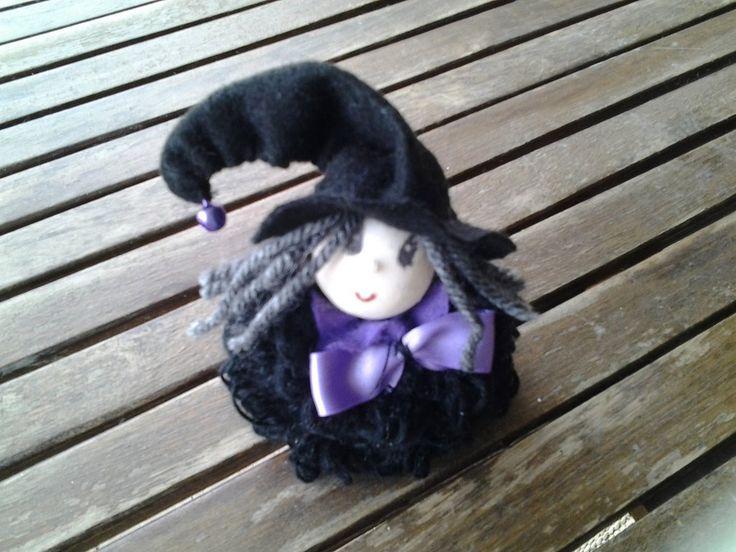 Streghette anticipo di Halloween, by Il sogno nel cassetto, 5,00 € su misshobby.com