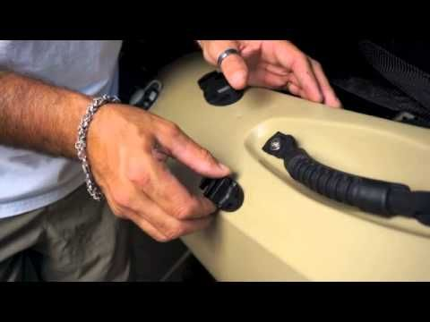How to Install a Yak Gear Kayak Anchor Trolley - YouTube