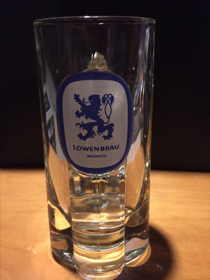 Lowenbrau  Handled Beer Glass