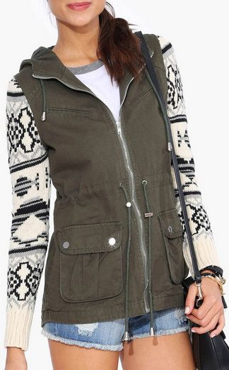 Aztec Army Jacket