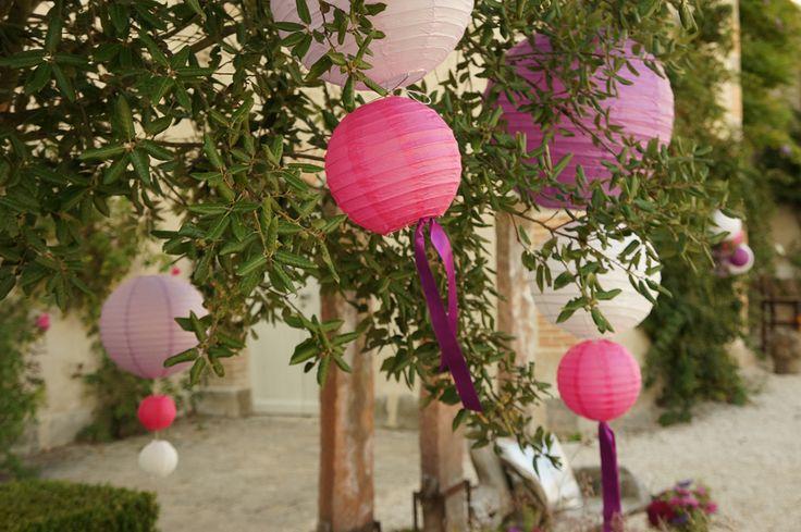 Mariage Rustique chic - Fuchsia et Violet - Dessine-moi une etoile