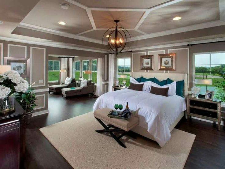 owners suite with sitting room huge walkin closet and attached bath direct access to the laundry room