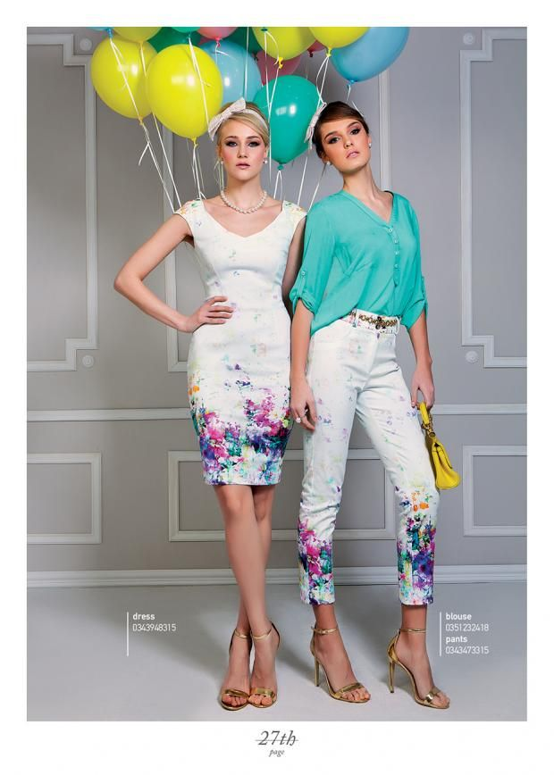 Multicolour digital printed outfits!!