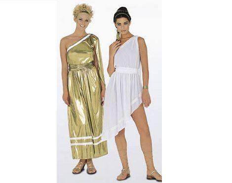 KOLPOS En el traje griego femenino, efectos de pliegues, originado por el cinturon.