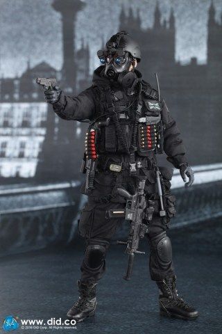 DiD British Special Air Service (SAS) B Squadron Black Ops Team - 01