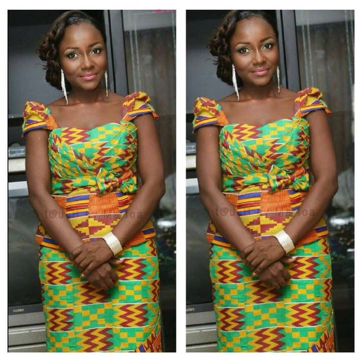 Ghanaian Traditional Engagement Latest African Fashion