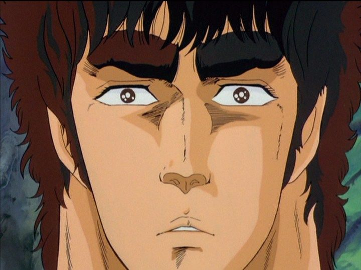 Clean faced Kenshiro. Fist of the North Star