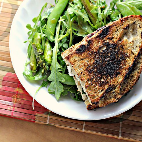 Grilled Goat Cheese Sandwiches with Fig and Honey...and a Dinner Party ...