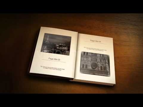 The Old Book - After Effects Template - YouTube