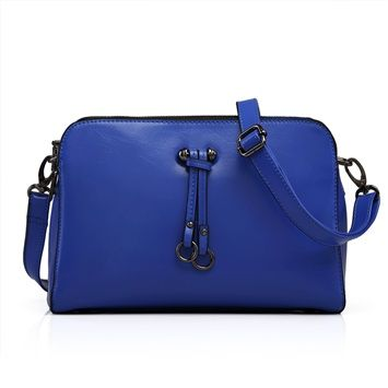 Lizhen 2014 New Women's Fashion Korean Style Cow Leather Candy-colored Handbags