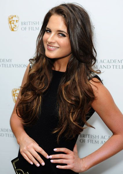 Shorter layers on long hair | Binky From Made In Chelsea