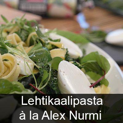 Lehtikaalipasta Laitilan Proegg Valkuainen ohje: http://www.laitilankanatarha.fi/reseptit