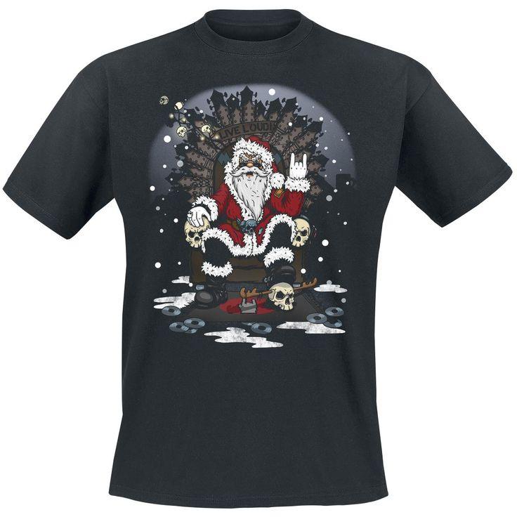 """Ota joulupukkii tänä jouluna vastaan """"Santa Rules"""" -T-paita päällä. Pukki tykkää varmasti! => http://www.emp.fi/large-popmerchandising-santa-rules-heavy-christmas-t-paita/art_290742/?campaign/emp/fi/sm/pin/promotion/desk/23112014-santa-rules"""